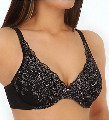 Playtex Secrets Side Smoothing Embroidered Underwire Bra