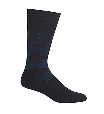 Polo Ralph Lauren Five Diamond Argyle Cotton Sock