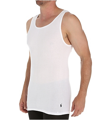 Polo Ralph Lauren Tall Man 100% Cotton Tanks - 2 Pack