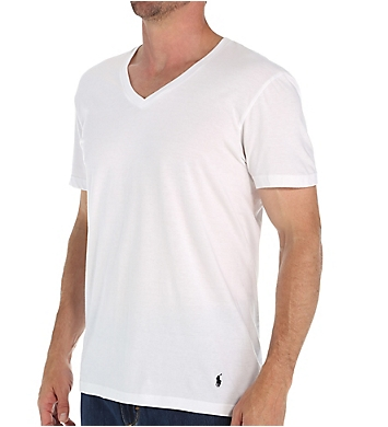 Polo Ralph Lauren Big Man 100% Cotton V-Necks - 2 Pack