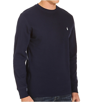 Polo Ralph Lauren Waffle-Knit Long Sleeve Tall Man Crew