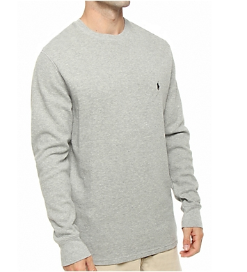 Polo Ralph Lauren Waffle-Knit Long Sleeve Crew Shirt
