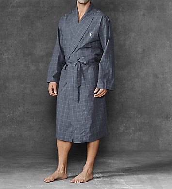 Polo Ralph Lauren Birdseye 100% Cotton Woven Robe