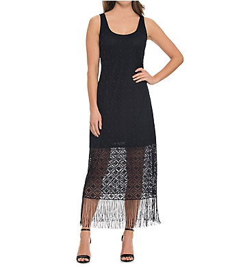 Profile by Gottex Charleston Tank Cover Up Dress with Fringe