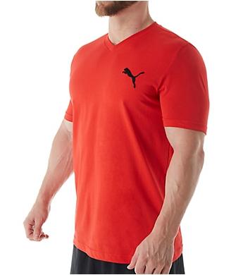 Puma Fundamentals Essential V-Neck T-Shirt