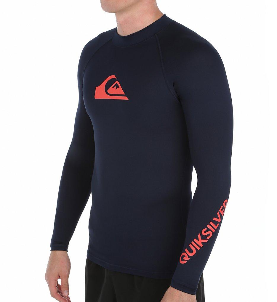 Quiksilver Eqywr034 All Time Long Sleeve Surf Shirt Rash Guard