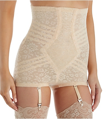 Rago Lace High Waist Brief Panty