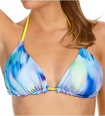 Reebok Watercolor Taylor Reversible Triangle Swim Top