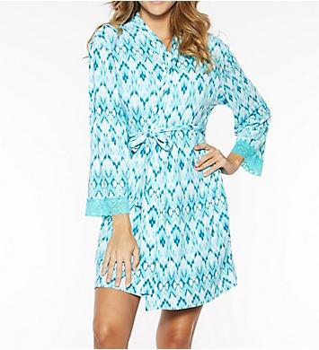 Rhonda Shear Ahh Printed Short Robe