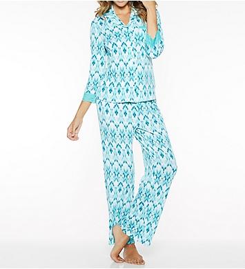 Rhonda Shear Ahh Printed Pajama Set