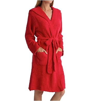 Rhonda Shear Marshmallow Hooded Robe