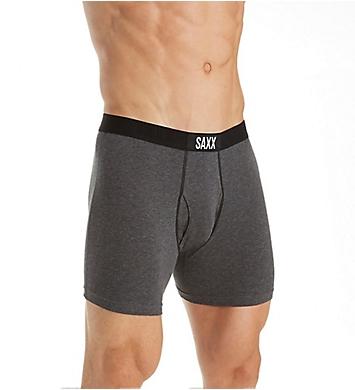 Saxx Underwear 24-Seven Premium Cotton Fly-Front Boxer