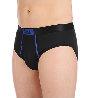 Saxx Underwear Kinetic Semi-Compression Fly-Front Brief
