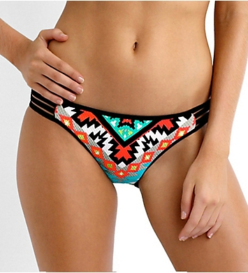 Seafolly Kasbah Multi Strap Hipster Swim Bottom