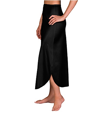 Shadowline Nylon Essentials Double Slit 1/2 Slip