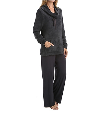 Softies by Paddi Murphy Boucle Cowl Neck Lounger Set