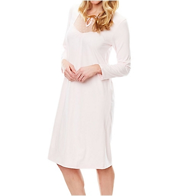 Softies by Paddi Murphy Dottie 3/4 Sleeve Short Gown