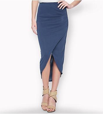 Splendid Sandwash Jersey Drapey Luxe Skirt
