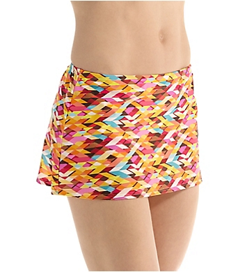 Sunsets Bright Side Contemporary Skirted Swim Bottom