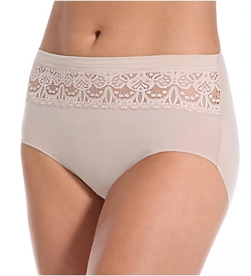 TC Fine Intimates Lace Trim Brief Panty