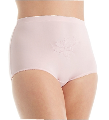 Teri Rose Brief With Embroidered Pattern Panty