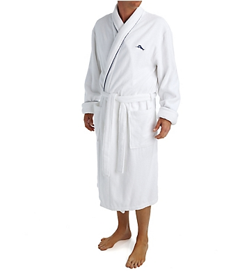 Tommy Bahama Woven Loop Terry 100% Cotton Robe
