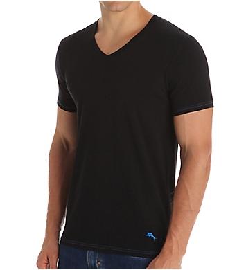 Tommy Bahama Stretch Cotton Comfort V-Neck T-Shirts - 2 Pack