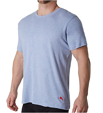 Tommy Bahama 100% Cotton Ribbed Crew Neck T-Shirts - 3 Pack