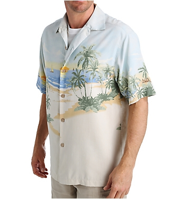 Tommy Bahama Sunscape Isle Silk Button Down Shirt