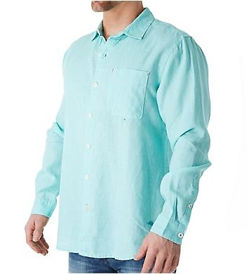 Tommy Bahama Sea Glass Breezer Long Sleeve Linen Shirt