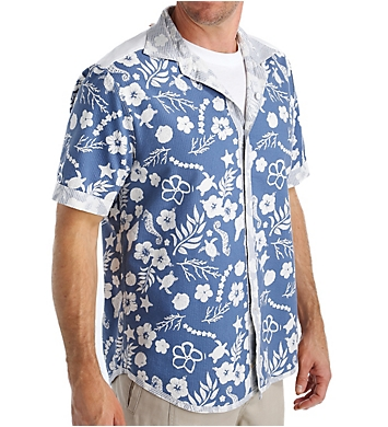 Tommy Bahama Tidepool Cruiser Reversible Camp Shirt