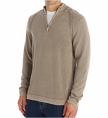 Tommy Bahama Beachcomber Saltwater Wash Half Zip Sweater
