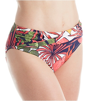Tommy Bahama Remy High Waisted Cross Front Sash Swim Bottom