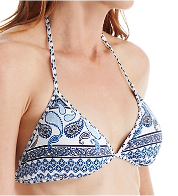 Tommy Bahama Paisley Terrace Reversible Triangle Swim Top