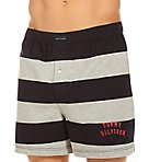 Rugby Stripe Basic 100% Cotton Knit Boxer