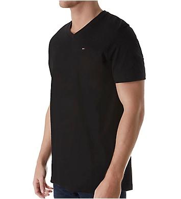 Tommy Hilfiger Basic 100% Cotton Core Flag V-Neck T-Shirt