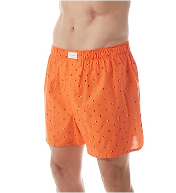 Tommy Hilfiger 100% Cotton Woven Boxers - 3 Pack