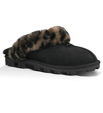 UGG Coquette Leopard Slippers