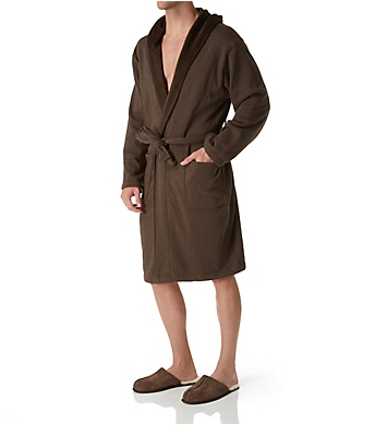 UGG Brunswick Double Knit Hooded Fleece Robe