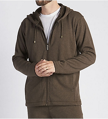UGG Bownes Double Knit Full Zip Fleece Hoodie