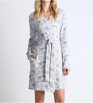 UGG Clio Island Floral Waffle Knit Robe