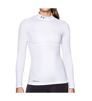 Under Armour UA ColdGear Authentics Mock Long Sleeve Shirt