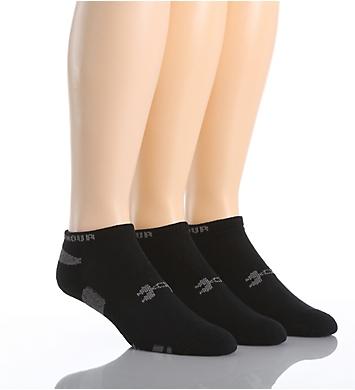 Under Armour HeatGear Anti-Odor No Show Socks - 3 Pack