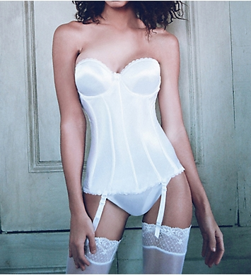 Va Bien Ultimate Hourglass Smooth Satin Bustier