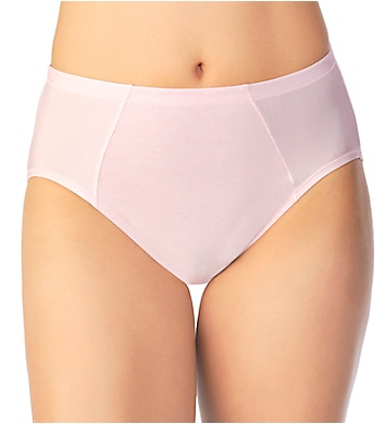 Vanity Fair Cooling Touch Cotton Stretch Hi-Cut Brief Panty