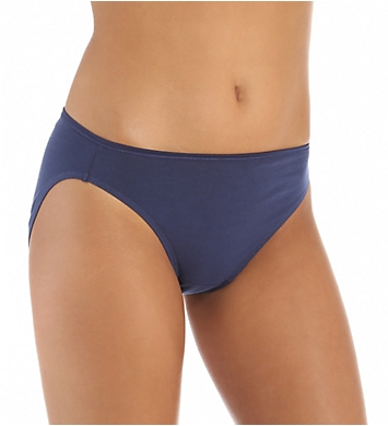 Vanity Fair True Comfort 100% Cotton Bikini Panties - 5 Pack