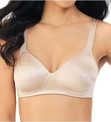 Vanity Fair Body Shine Floral Full Coverage Wirefree Bra