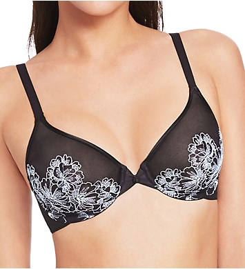 Wacoal Fragile Drama Mesh Underwire Bra with Embroidery