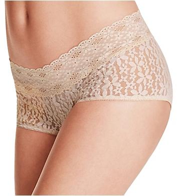 Halo lace bikini panty wacoal visible, not
