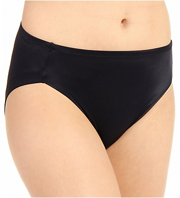 Warner's No Wedgies No Worries Hi Cut Brief Panty